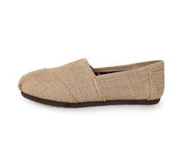 Zapatos de bajo comercio online-2017 nuevo comercio exterior nuevo lino bajo zapatos perezosos zapatos casuales mayorista y minorista fabricante de ropa trenzada