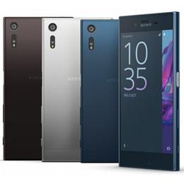 Wholesale Camera Xperia - Refurbished Original Sony Xperia XZ F8331 F8332 5.2 inch Quad Core 3GB RAM 32GB ROM 23MP Unlocked 4G LTE Android Smart Mobile Phone DHL 5pcs