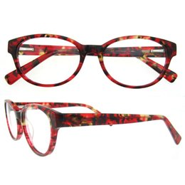 Wholesale Cute Frames - Dropshipping Cute Colorful Blue Purple Red Oval Full-rim Flexible Spring Hinge Female Spectacles From China Factory