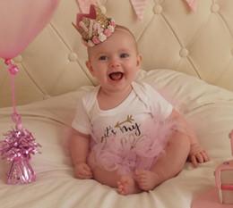 vestidos de casamento dos miúdos china Desconto 2017 nova Europa tiaras flor coroa cinto de cabelo para festa de aniversário do bebê retrato decoração frete grátis