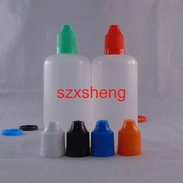 Wholesale E Vapours - 10Pcs Pack 100ml Portable PE Vapour E-juice Unicorn Squeezable Dropper Bottles empty e liquid Needle Oil diy bottle e-cig Eye Drops Bott