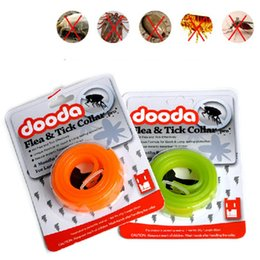Wholesale Family Tubes - DOODA Family Flea And Tick Collar Dogs Anti Mosquitoes Necklet Expelling Parasite Pets Collars Remedies Practical Safe Non Toxic 9 5yp2 R