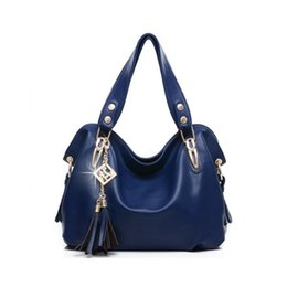 Wholesale Messenger Product - Wholesale- High Products Luxury Handbag Tote PU Leather Hobo Shoulder Bag Messenger Bags+5 Color+Free Shipping