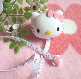 Wholesale Tailor Measurements - Kawaii Kitty Cat Doraemon Sewing Measurement Retractable Tailor Crafts Ruler Tape Measures.Cloth Dieting Tailor.Home Product