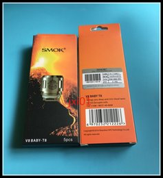 Wholesale Core Engines - Authentic SMOK TFV8 Baby Coil Head Replacment T8 X4 T6 Q2 m2 Beast Coil Engine Core for Sub Ohm Tank