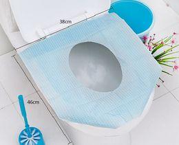 Wholesale Portable Toilet Seats - Disposable Closestool Seat Pad Portable Toilet Seat Mat Waterproof Closestool Seat Cover