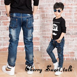 Wholesale Chinese Kids Wear - New boy jeans. jeans boy for 2 to 14 years old children wear fashionable style and high quality kids jeans,boys jeans 86208