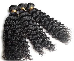 Wholesale Retail Virgin Hair - Afro Kinky Curly Human Hair Weave Brazilian Malaysian Indian Peruvian Cheap Remy Virgin Hair Extensions 3pcS 100g bundle Wholesale retail