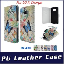 Moto x telefon ledertasche online-Brieftasche Fall für LG X Lade Fiesta LTE X Power 2 Für Motorola MOTO G5S PLUS PU Leder mit Stand Telefonabdeckung C