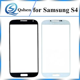 Wholesale S4 Replacement Glass - Grade A+++ Quality For Samsung Galaxy S4 I9500 Front Lens Outer Glass Touch Screen Panel Replacement Parts
