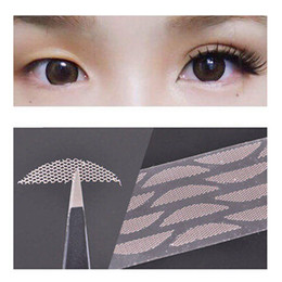 Wholesale Eye Charm Double Tape - Wholesale-60Pairs Double Eyelid Tape Invisible Eye Charm Double Eyelid Tape Sticker Lace Trial Makeup Tools Beauty Essentials Without Glue