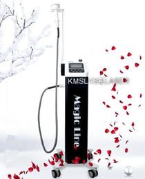 Wholesale Rf Led Device - Korea Magic line Vacuum RF LED light skin therapy Radio Frequency RF skin lift tighten rejuvenation anti-aging Beauty device