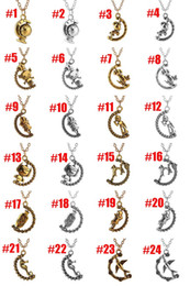 2019 vasi lunghi Girocolli pendenti girocollo Hippocampus Rabbit Dog Wapiti Uccello Robot Globe Girl Vaso Collana pendente Collana lunga Drop Ship 161901 vasi lunghi economici