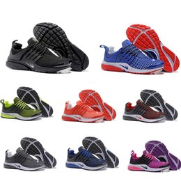 Wholesale Sport Running Air - wholesale new Air Presto Blackout running shoes Air Presto white black multi sport running shoes air presto ultra sneaker Sock Dart boost
