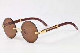 Wholesale rimless prescription glasses - 2017 fashion styles new sports sunglasses for men brand designer outdoor prescription glasses rimless round lens sunglasses with box case