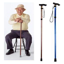 Wholesale Walking Poles Wholesale - 20pcs Ultra-light Nordic Walking Sticks Folding Trekking Cane for the Elderly Outdoor Telescopic Poles Aluminum Alloy Climbing Hiking Sticks