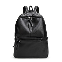 Wholesale Wholesale Black Beaded Applique - The new 2016 ms han edition fashionable backpack travel female bag bag