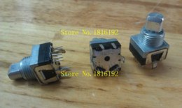 Wholesale Pulse Point - Wholesale- Double-ALPS Alps EM11B encoder pulse points with a switch 16 axial length 10MM