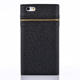 Wholesale S3 Wallet Id Credit Card - Zipper ID Credit Card Wallet Case For Samsung S3 S4 S5 S6 S6 Edge S6 Edge Plus