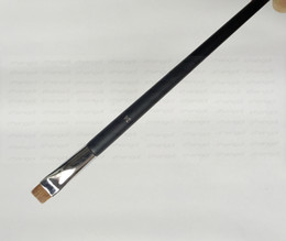Wholesale Eyeliner Tubes - Free shipping epacket ! hot sale high quality copper tube 24 # eyeliner contour makeup brush HZS029-045