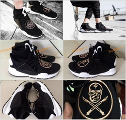 Wholesale Name Brand Women Boots - 2017 Name Brand The Shoe Surgeon x Sock Dart MID Running Shoes For Men Women Lace Darts Breathable Sneakers Boots Outdoor Shoes Sports