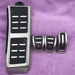 Wholesale Rs4 Audi - Non-slip accelerator gas brake foot rest pedal pads for Audi S4 RS4 A5 S5 RS5 8T A6 4G S6 (C7) Q5 S5 RS5 A7 S7 SQ5 8R LHD 2009