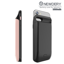 Wholesale Iphone Covers China Wholesale - China factory battery cover case rechargeable battery case External Charger case portable charger For iPhone 8+ 7+ 6+ 6s+