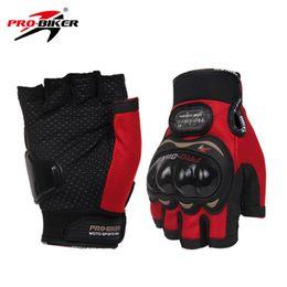 Wholesale Enduro Dirt Bike - Wholesale- PRO-BIKER Motorcycle Riding Gloves Enduro Half Finger Gloves Breathable Motocross Off-Road Dirt Bike Racing Luvas Size: M L XL
