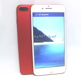 "Wholesale Hd Quad Core Smartphone - Goophone i7 Plus Quad Core MTK6580 android 6.0 1GB 12GB 960*540 5.5"" HD 8MP Metal Unlocked Smartphone"