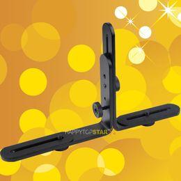 Wholesale Ttl Flash Cord - Double Dual L-Shaped Metal Bracket Holder Mount for Camera Camcorder Video Camera Speedlite Flash TTL Cord Light Stand