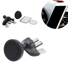 Wholesale Universal Phone Dash Mount - Univeral Holder Magnetic Car CD Dash Slot Air Outlet Mount Holder For Cell Phone GPS With Retail Package
