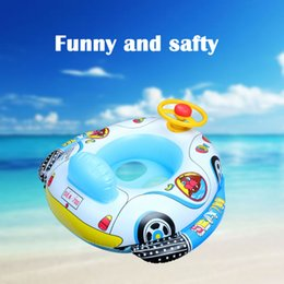 Wholesale Wholesale Baby Shower Items - Toy For Kids Accessories Swim Seat Float Baby Float Seat Boat Inflatable Car Swimming Ring Shower Circle House Swimmig Pool