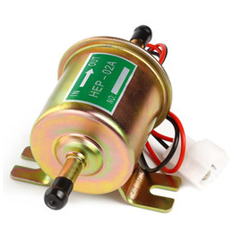 Wholesale Petrol Fuels - 2017 New Universal Lightweight Petrol Gasoline Electric Fuel Pump HEP-02A Low Pressure 12V Easy to Fit and Connect AUP_B00