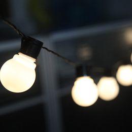 Wholesale blue christmas bulbs - G45 led light bulbs 2.5m 5m 10m Christmas lights 110-220V led waterproof light outdoor Holiday lights