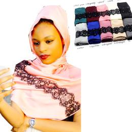 917dcdd2a0bf châle de femme musulman en gros Promotion Gros-New Fashion musulman écharpe  en soie Chine