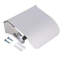Wholesale Tissue Box Stainless - Amazing Durable Bathroom Accessories Stainless Steel Toilet Paper Holder Tissue Holder Roll Paper Holder Box