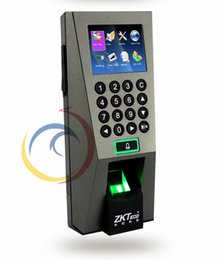 Wholesale Rf Door Locks - Wholesale- Biometric Fingerprint Scanner Access Control Time Attendance Door Locks Door Control 13.56MHz RF Reader Security Home