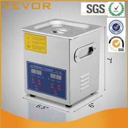 Wholesale Digital Heated Ultrasonic Cleaner - Commercial Ultrasonic Cleaner 2L Heated with Digital Timer Jewelry Watch Glasses Cleaner Large Capacity Cleaner Solution