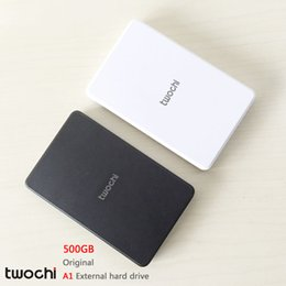 Wholesale Portable Hdd Storage - Wholesale- Free shipping New Styles TWOCHI A1 Original 2.5'' External Hard Drive 500GB Portable HDD Storage Disk Plug and Play On Sale