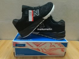 Wholesale Nb Design - 2017 free delivery of the NB 580 classic design of the actual picture design sneaker running shoes hiking shoes send shoe box super quality