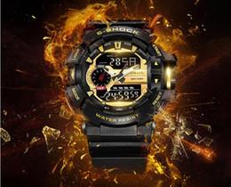 Оригинал FRAM Китай 5 цвет все функции светодиодные армейские военные часы мужские водонепроницаемый S шок часы цифровой G спортивные наручные часы от