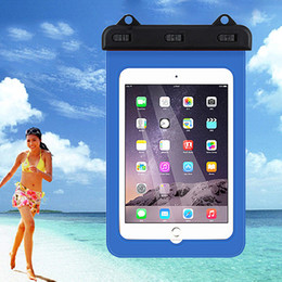 """Wholesale Tablets Cartoon Cover - 7"""" Waterproof Pouch Case Dry Bag Water Resistance Pouch Case Cover Protector Skin For Kindle Ebook Samsung Tablet iphone ipad Mini"""