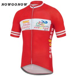 fdc7fe714 Customized NEW 2017 Spain Vuelta a España mtb road RACE Team Bike Pro  Cycling Jersey Shirts   Tops Clothing Breathing Air Jiashuo