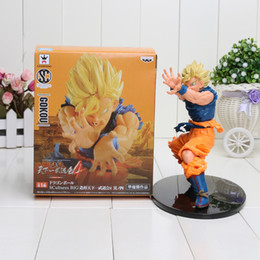 Wholesale Anime Dragon Ball Z Figures - Anime Dragon Ball Z Sun Goku Super Saiyan PVC Action Figure Collectible Model Toy 17CM