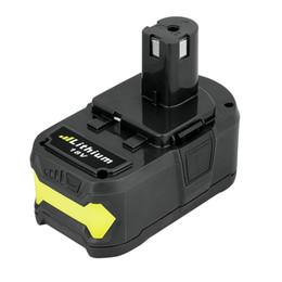 Wholesale High Power Li Ion Battery - High Capacity P108 Replacement Li-ion Battery 18V 4.0Ah for Ryobi 18-Volt ONE+ Cordless Drill Power Tool P100 P101 P102 P103 P105 P107 P201