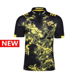 Wholesale Union Cotton - New Zealand Union Hurricanes Special Edition The pre-sale Top quality Rugby Jersey Shirts Chief Special Version Rugby S-3XL