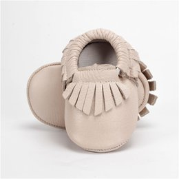 Wholesale Kind Girls - SDMOCCS New Fashion Baby First Walker Shoes Cow Genuine Leather Fringe Baby Moccasins Kinds Boys Girls Shoes 0-24M