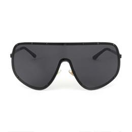 Wholesale Color Mix Statement - ROYAL GIRL Oversized Men Polarized Face Sunglasses women sun shades big glasses Statement Glasses ss061