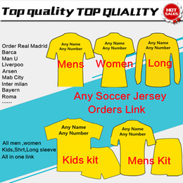 Wholesale Soccer Jersey Football Shirts kids woman tracksuits sweater men Soccer Jersey Customers Order Link jacket