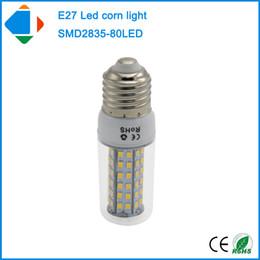 Wholesale Lampe E27 - 4x 8 watt e27 clear plastic cover bulb lamp smd 2835 chip 80leds pure white 110v 220v 8w lampe led energy saving lamp